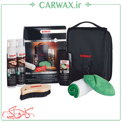 محافظ چرم سوناکس Sonax Leather care Kit